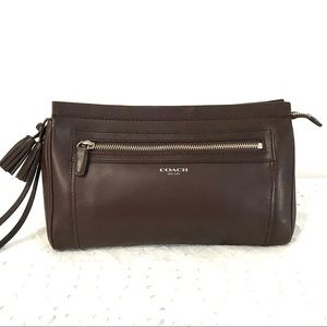 Coach Legacy Clutch - Chocolate Brown